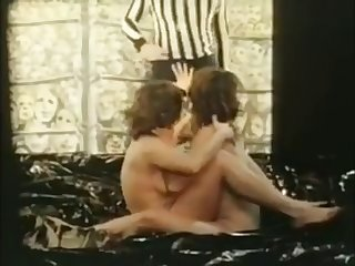 oil wrestling and sex from vintage adult movie