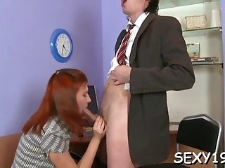 hot riding with mature teacher