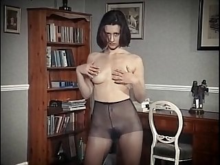 nylon tease - vintage british hairy beauty