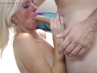 sexy busty wife having a real orgasm with her photographer