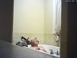 hidden camera wife masturbating in the matter of tub